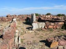 Sardinia. Carbonia. Monte Sirai Stock Image