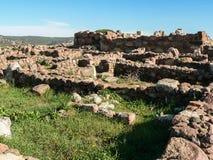 Sardinia. Carbonia. Monte Sirai Stock Photography