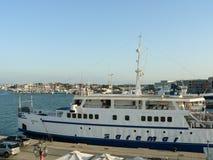 Sardinia. Carloforte. Ferryboat Stock Photos