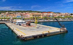 Sardinia - Carloforte waterfront Royalty Free Stock Photography