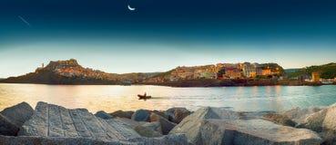 Sardinia Castelsardo Royaltyfri Fotografi