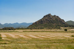 Sardinia. Castle of Acquafredda Royalty Free Stock Photos