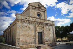 Sardinia.Cathedral Stockbild