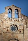 Sardinia.Church Voorgevel Royalty-vrije Stock Foto's