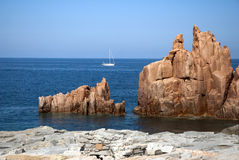 Sardinia coast Royalty Free Stock Photo