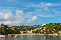 Sardinia coast at Palau city. Royalty Free Stock Photos