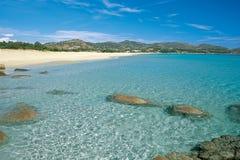 Sardinia_coastal liggande 9 Royaltyfria Foton