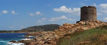 Sardinia coastline , Isola Rossa Royalty Free Stock Photo