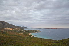 Sardinia coastline and Villasimius - Italy  Royalty Free Stock Image