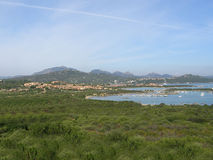 Sardinia - Costa Smeralda Coast Landscape, Italy Stock Photos