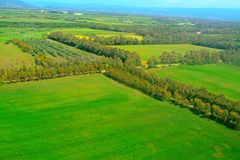 Sardinia countryside seen from above. Italy Royalty Free Stock Image