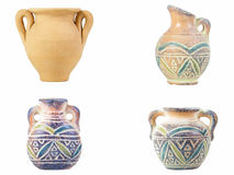 Sardinia Earthen Jugs Royalty Free Stock Image