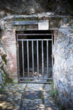 Sardinia.Mining Entrance stock images
