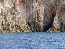 sardinia Geological krajobrazy obrazy stock