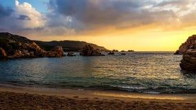 Sardinia golden coast Royalty Free Stock Photos