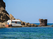 Sardinia. Gonnesa Royalty Free Stock Images