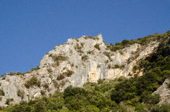 Sardinia, Gutturu Cardaxius Canyon, near Iglesias royalty free stock photos