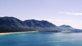 Sardinia hav av Portixeddu Royaltyfri Foto