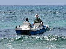 Sardinia hav och löpare Arkivbilder
