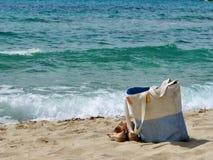 Sardinia hav och påse Royaltyfri Foto