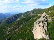 Sardinia inland. View into the Sardinian inland Stock Images