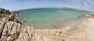 Sardinia - Italy. The beach Rena Majore on a sunny day - Sardinia, Italy Stock Photos