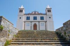 Sardinia, Italy. Basilica of Santa Maria della Neve. In the village of Cuglieri Royalty Free Stock Photography