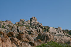 Sardinia, Italy. The Bear's Stone near Palau Royalty Free Stock Image