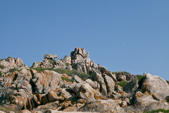 Sardinia, Italy. The Bears Stone near Palau Stock Photography