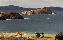 Sardinia italy cappuccini island Stock Images