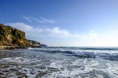Sardinia, italy, europe, the south west coast, beach san nicolò Royalty Free Stock Photo