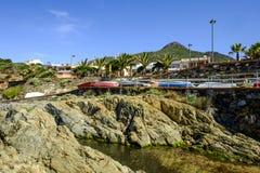 Sardinia, italy, europe, the south west coast, beach san nicolò Royalty Free Stock Photography