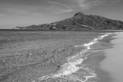 Sardinia, italy, europe, the south west coast, beach san nicolò Royalty Free Stock Photos