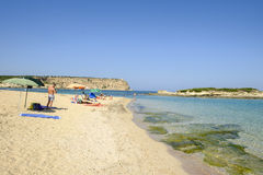 Sardinia, italy, europe, west coast, beach sa mesa longa Stock Photo