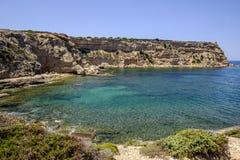 Sardinia, italy, europe, west coast, beach sa mesa longa Royalty Free Stock Image