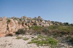 Sardinia, Italy. Sardinia rocky coast near Palau Royalty Free Stock Image
