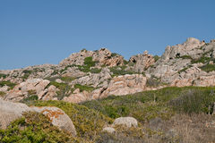 Sardinia, Italy. Sardinia rocky coast near Palau Royalty Free Stock Photo