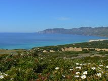 Sardinia landscape Royalty Free Stock Images