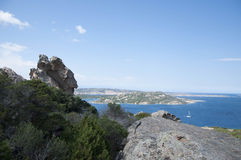 Sardinia  landscape la maddalena Royalty Free Stock Photos