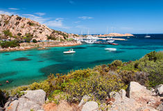 Sardinia  landscape la maddalena sea Stock Photos