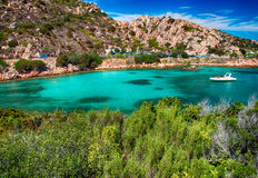Sardinia  landscape la maddalena sea Royalty Free Stock Photography