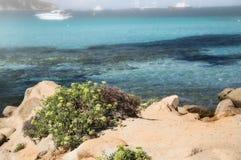 Sardinia  landscape pevero bay sea. ITALY SARDINIA  landscape pevero bay sea Royalty Free Stock Photography