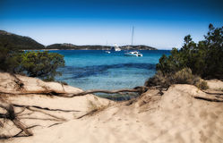Sardinia  landscape pevero bay sea Royalty Free Stock Photos