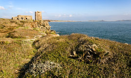 Sardinia, landscape of Sinis coast Stock Photo