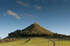 Sardinia. Las Plassas slott Arkivfoton