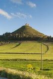 Sardinia. Las Plassas slott Royaltyfri Fotografi