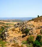 Sardinia liggande - Gerrei Fotografering för Bildbyråer
