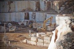 Sardinia.Limestone λατομείο Στοκ Φωτογραφίες