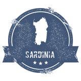 Sardinia logo sign. Stock Image
