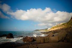 Sardinia Lubagnu beach Stock Images